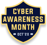 Cyber Awareness Month Campaign Logo