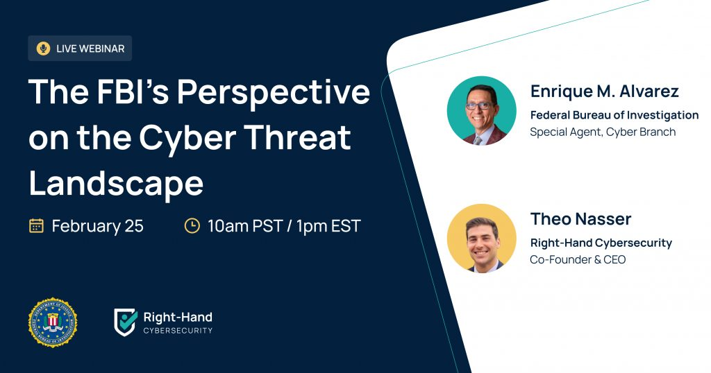 Webinar The FBI's Perspective on the Cyber Threat Landscape