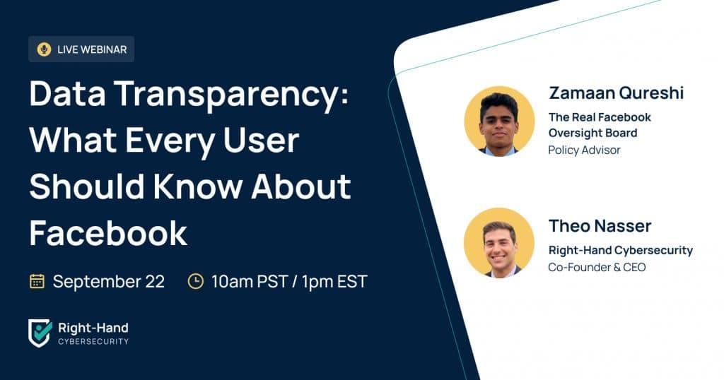 data transparency webinar