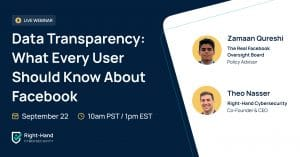 data transparency webinar facebook